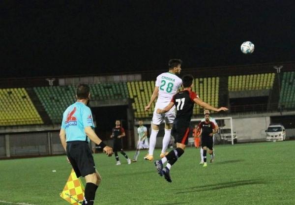 لیگ دسته اول فوتبال، چوکا در غیاب پاشازاده، صدرنشین را متوقف کرد