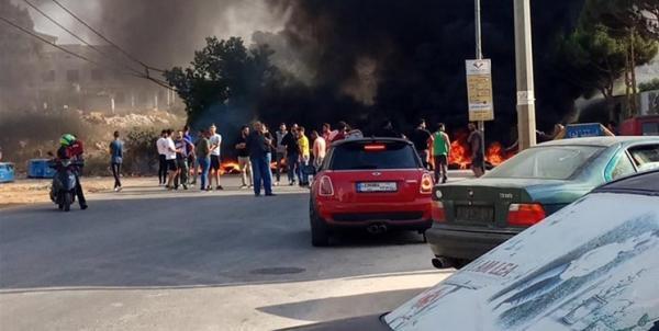 شروع مجدد اعتراض های خیابانی در لبنان با ادامه بحران مالی این کشور