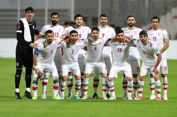 ترکیب تیم ملی فوتبال ایران مقابل عراق معین شد